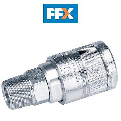 DRAPER 25857 1/2 BSP Male Thread Air Line Coupling
