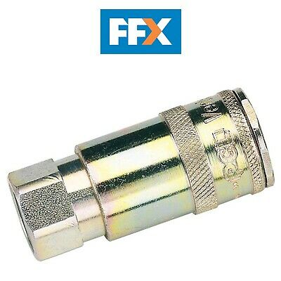 "DRAPER 51404 3/8"" BSP Taper Female Thread Vertex Air Coupling"