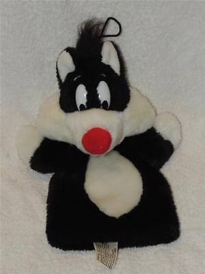 Looney Tunes 1989 Sylvester Plush Hand Puppet Mighty Star