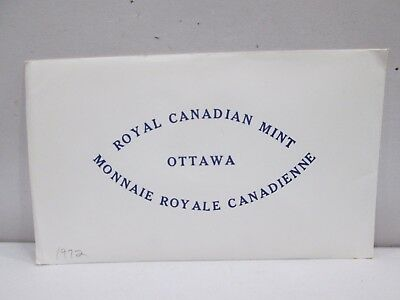1972 Canadian Uncirculated Coin Set