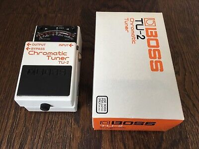 Boss TU-2 Tuner Pedal TU2 The industry standard in great condition