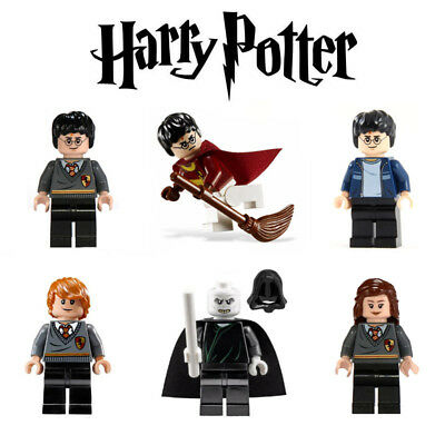 6 pcs Small Action Figures Harry Potter and the Philosopher's Stone Block Toy