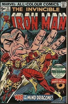 Iron Man #81 Vs Firebrand! Vf 8.0 Very Glossy Original Owner Copy White Pages