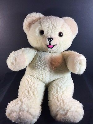 "SNUGGLE Fabric Softener Bear Plush - Large 15"" Stuffed Lever Russ 1986"