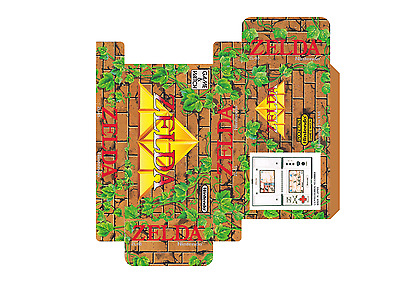 Zelda - Multi Sreen (Game And Watch) (Caja + Corcho) (Only Box)