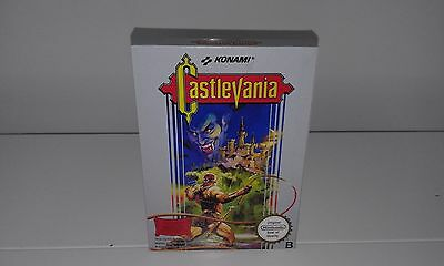 Castlevania (English) (Nes) (Caja + Insert) (Only Box)