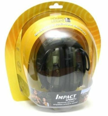Howard Leight R-01526 Impact Sport Electronic Shooting Ear Muffs  FREE US Ship!