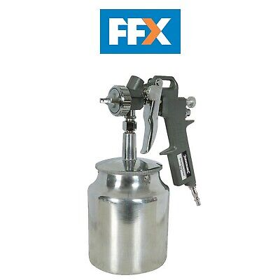 Silverline 196536 Spray Gun Suction Feed 750ml