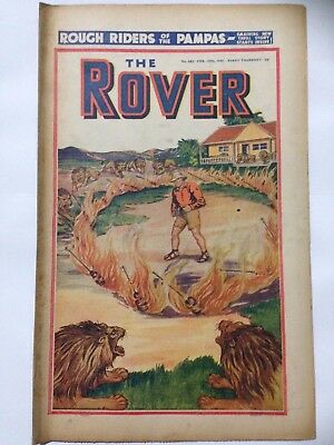 DC Thompson. THE ROVER Wartime Comic. February 15th 1941 Issue 983.