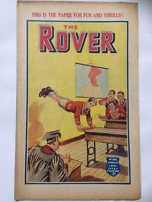 DC Thompson. THE ROVER Wartime Comic April 19th 1941 Issue 992 *FREE UK POSTAGE*