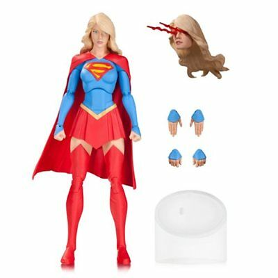 DC Collectibles comics icons SUPERGIRL w/ heat-vision head 6in. Figure =FREE SH