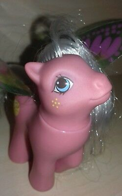 My little pony lady flutter vintage G1 summer wings