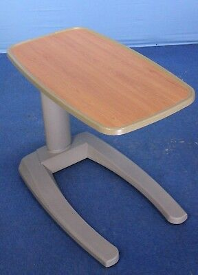 New-Style Stryker Bedside Table Overbed Table Hospital Bed Table with Warranty