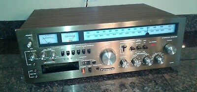 Panasonic RA-6600 Stereo Receiver w/ 8 Track Recorder Player, Tested Works