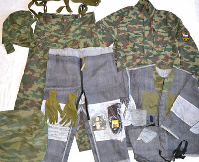 Russian Army The protective filter clothes KSFO flora camo