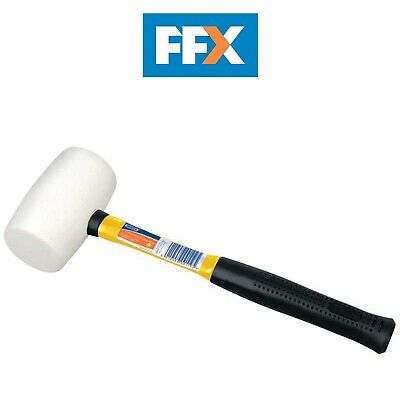 Draper 09119 Expert 26oz Fibreglass Shaft Mallet with Non-Marking Rubber Head