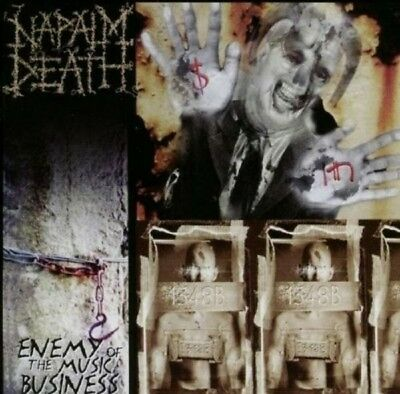 Napalm Death - Enemy Of Music Business+Leaders Not... Cd- Rock -20 Tracks- New+