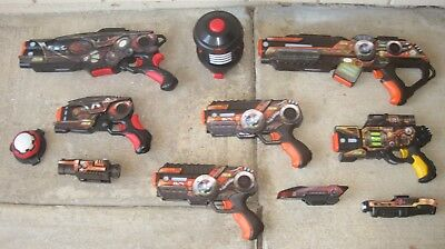 WowWee LIGHT STRIKE XR Series Laser Tag Lot w/Scope ITS Scanner Refractor Target