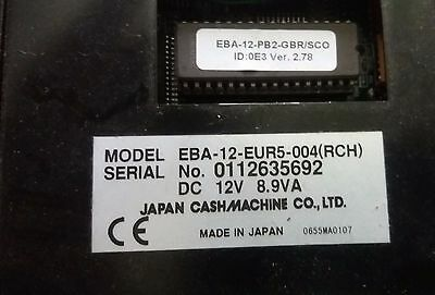 JCM Note acceptor untested
