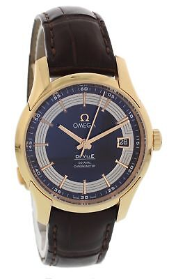 Omega De Ville Hour Vision 431.63.41.21.13.001 Automatic Co-Axial 18k Rose Gold