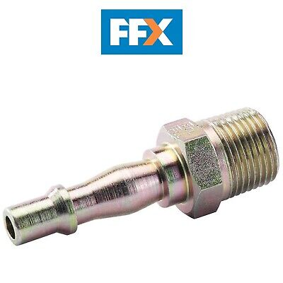 "Draper A6909 BULK 3/8"" BSP Male Thread PCL Coupling Adaptor (Sold Loose)"