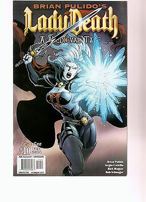 brian pulido's lady death   a medieval tale #10    2004   FREE SHIPPING