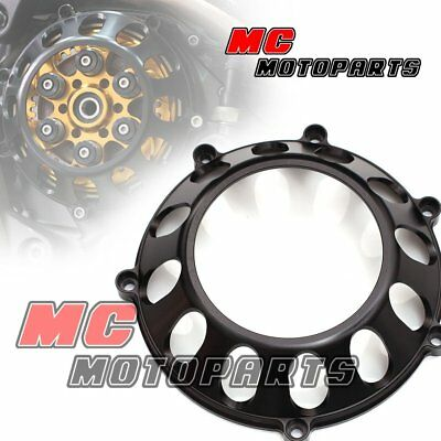 Black For Ducati Billet Clutch Cover For 748 749 999 1098 1198 S R 918 CC27