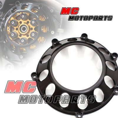 Black For Ducati Billet Clutch Cover For Monster S4RS S2R 1100 750ie 900ie CC27