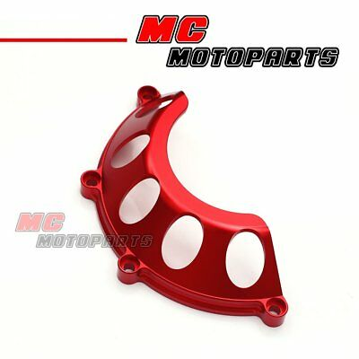 Red Half Billet Clutch Cover For Ducati 748 749 999 1098 1198 S R CC35