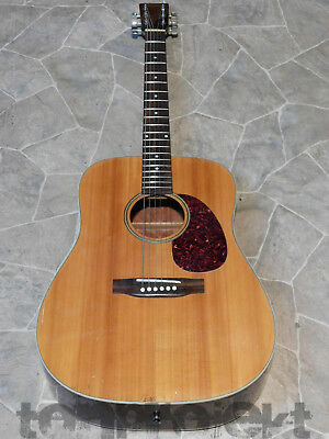 anciens Gewa TENNESSE Fullsize DREADNOUGHT Acoustique Guitare Guitare 1980`