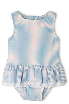 NEW Sprout Girls Swimsuit Blue