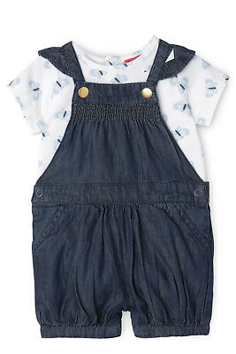 NEW Sprout Overall and T/Shirt Set Denim