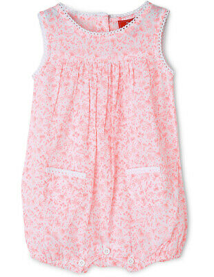 NEW Sprout Girls Fluro Romper Coral