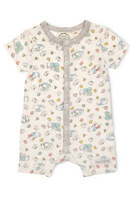 NEW Peter Rabbit Short Sleeve Romper White
