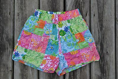LILLY PULITZER ~ Girls Summer Floral Shorts ~ Sz 12