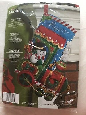 Bucilla Candy Express Stocking