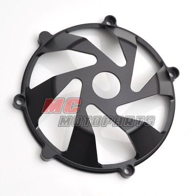 Black For Ducati Billet Clutch Cover For Multistrada 1000 1100 DS ST2 ST4 S CC15