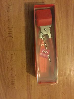 "Vintage New Texan ""York"" Nut Sheller Red Color"
