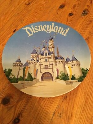 DisneyLand - Walt Disney World Sleeping Beauty Castle Collectors Plate 9.5""