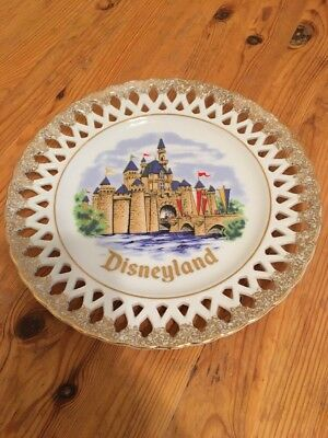 Disney Land Sleeping Beauty Castle Collectors Plate 9.5""