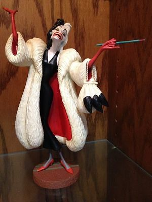 Disney Collector Society - Classics Figurines-101 Dalmatians-CrellaDeVil