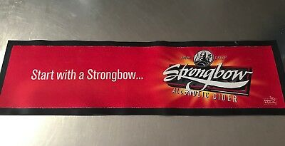 Strongbow Cider Classic Rubber Backed Bar Mat Barmat