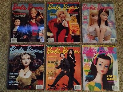 Barbie Bazaar magazines - 2000 compete set of 6