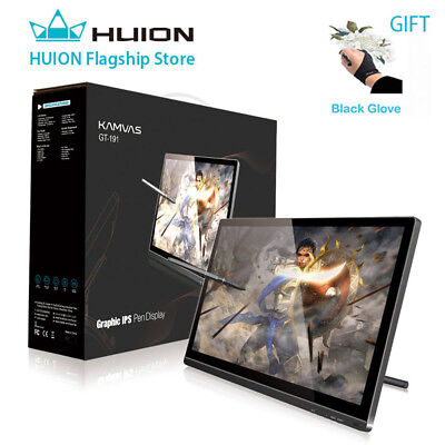 Huion GT-191 Graphics Drawing Tablet Monitor Pad 8192 Levels of Pressure Artists
