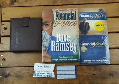 Dave Ramsey Financial Peace University Complete 16 CD's Set Book Tip cards PC