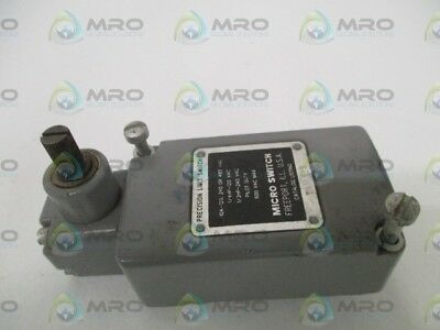 Microswitch 201Ls19 Limit Switch (Gray) *used*