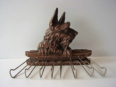 Vintage Scottish Terrier Belt Or Jewelry Holder