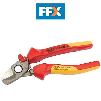DRAPER 02880 Expert 180mm Expert Ergo Plus Fully Insulated Cable Cutter
