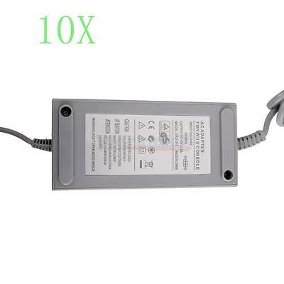 Lot10 AC Adapter Power Supply Wall Charger Cord Cable for Nintendo Wii U Console