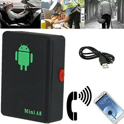 Mini A8 Real Time GPS Tracker Global Locator Tracking Device GSM For Car Kid Pet